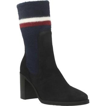 Chaussures Femme Bottines Tommy Hilfiger FW0FW04497 Bleu