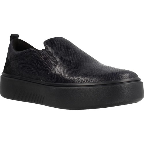 Chaussures Femme Slip ons Geox D NHENBUS Bleu