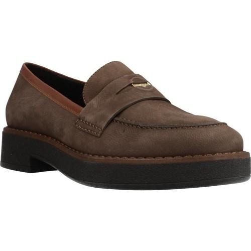 Chaussures Femme Mocassins Geox D ADRYA Marron