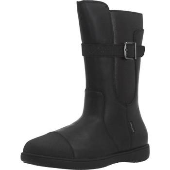 Chaussures Fille Bottes ville Garvalin 191628 Noir