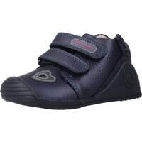 Chaussures Fille Baskets basses Biomecanics 191125 Bleu