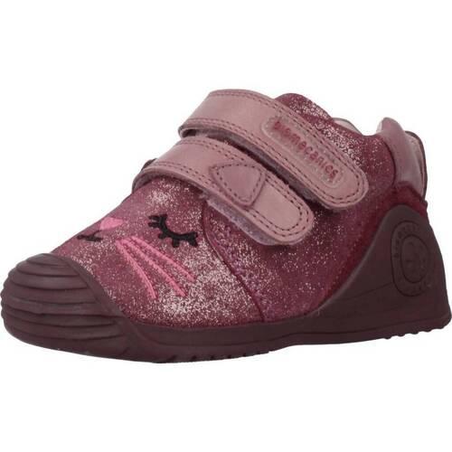 Chaussures Fille Baskets basses Biomecanics 191135 Rose