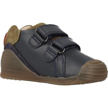 Chaussures Garçon Baskets basses Biomecanics 191153 Bleu