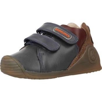 Chaussures Garçon Baskets basses Biomecanics 191155 Bleu