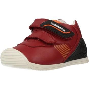 Chaussures Garçon Baskets basses Biomecanics 191159 Rouge