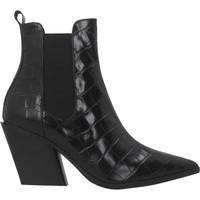 Chaussures Femme Bottines Elvio Zanon EK2604X Noir
