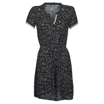 Vêtements Femme Robes courtes One Step FQ30041-02 Noir