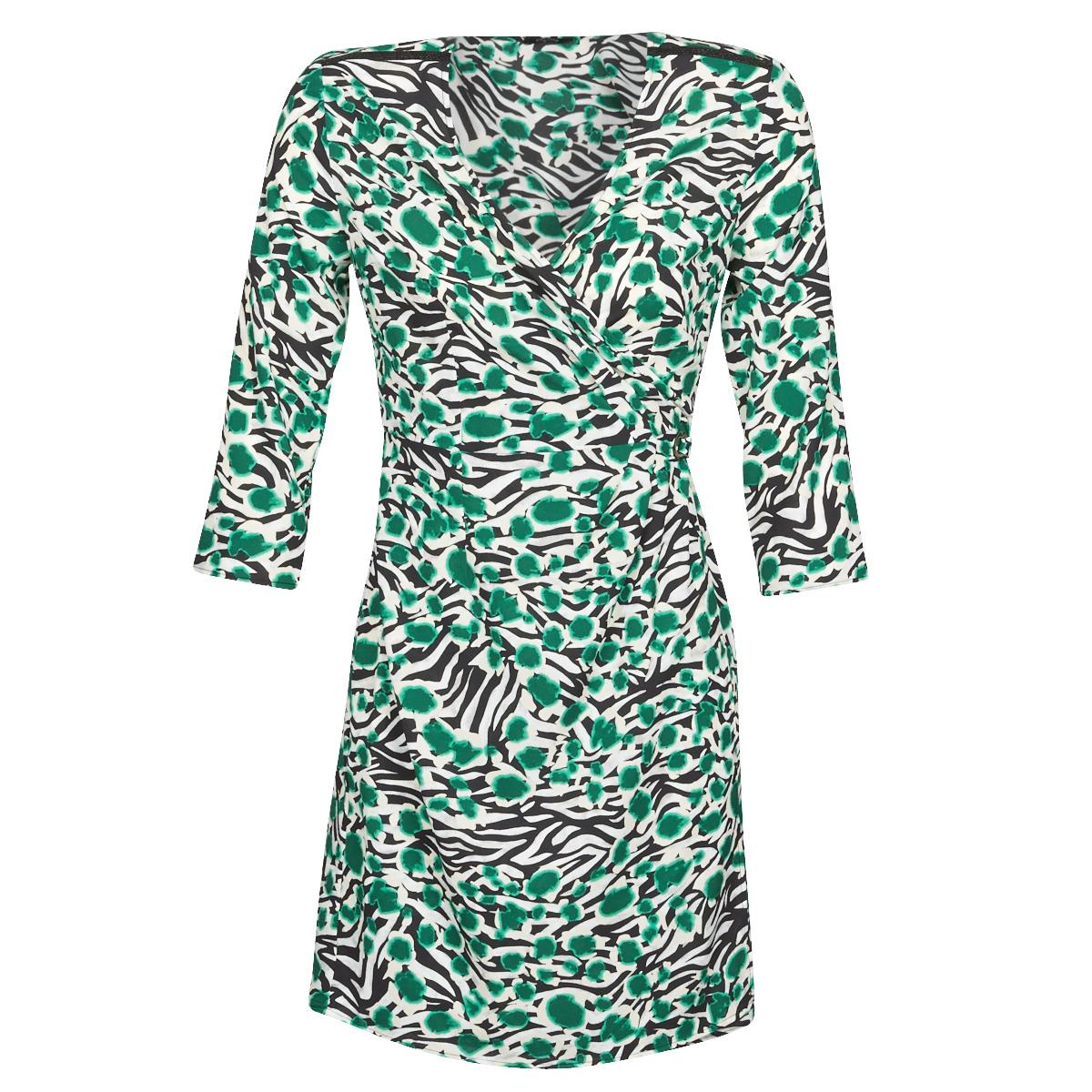 One Step Fq30061 54 Multicolore Livraison Gratuite Spartoo Vetements Robes Courtes Femme 101 50