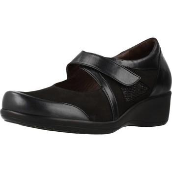 Chaussures Femme Baskets mode Mateo Miquel 91765 Noir