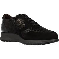 Chaussures Femme Baskets basses Mateo Miquel 3885M Noir