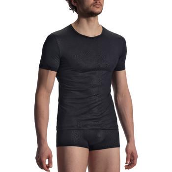 Sous-vêtements Homme Maillots de corps Olaf Benz T-shirt RED1907  noir Noir