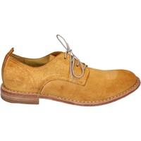 Chaussures Femme Derbies Moma BR959 jaune