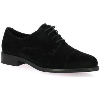 Chaussures Femme Derbies We Do Derby cuir velours Noir