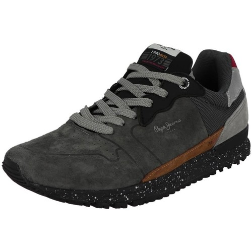 Chaussures Homme Baskets basses Pepe jeans pms30584 gris