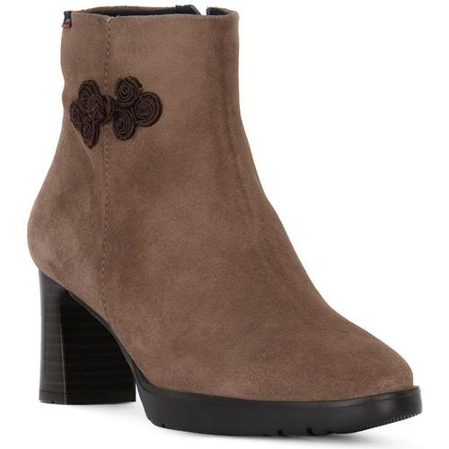 Chaussures Femme Bottines CallagHan BALI PIEDRA Nero