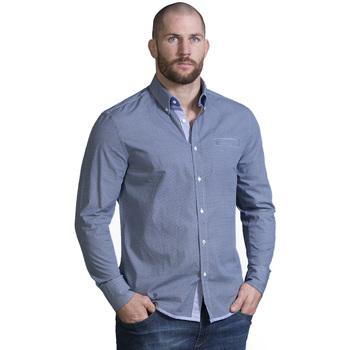 Vêtements Homme Chemises manches longues Ruckfield Chemise homme élégant Bleu