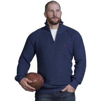 Vêtements Homme Pulls Ruckfield Pull marine Chabal Bleu