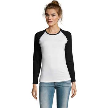 Vêtements Femme T-shirts manches longues Sols MILKY LSL SPORT Multicolor