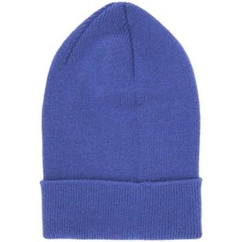 Bonnet Anonyme Casque decoute en tricot flamme violet ANYP2