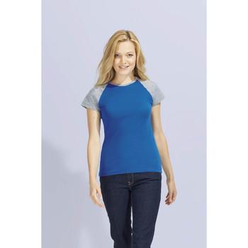 Vêtements Femme T-shirts manches courtes Sols MILKY BICOLOR SPORT Multicolor