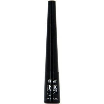 Beauté Femme Eyeliners Miss Cop INK Eyeliner précision noir   3ml Noir