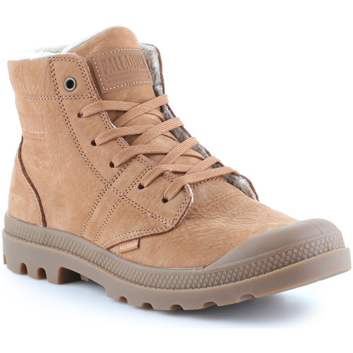 Chaussures Homme Baskets montantes Palladium Plbrs Mahogany 05981-257-M beżowy