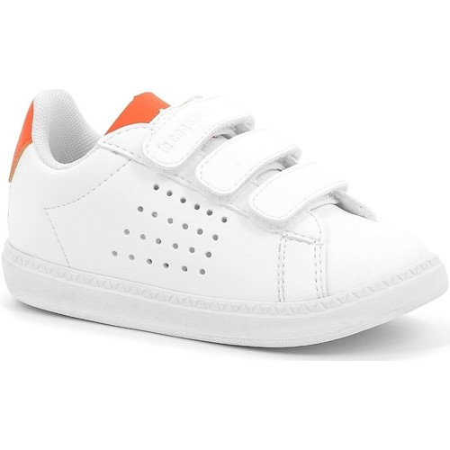 Chaussures Enfant Multisport Le Coq Sportif Chaussures Sportswear Baby  Courset Inf Sport Blanc