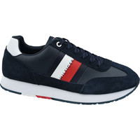 Chaussures Homme Baskets mode Tommy Hilfiger Corporate Leather Flag Runner FM0FM02380-403