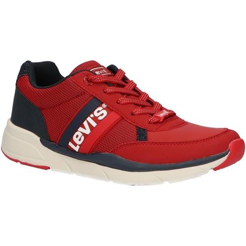 Chaussures Enfant Baskets basses Levi's VORE0016S NEW OREGON Rojo