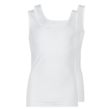 Vêtements Homme Débardeurs / T-shirts sans manche Athena COTON BIO Blanc