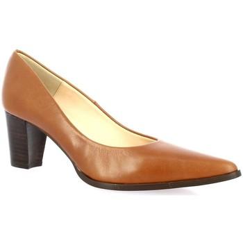 Chaussures Femme Escarpins Brenda Zaro Escarpins cuir Cognac