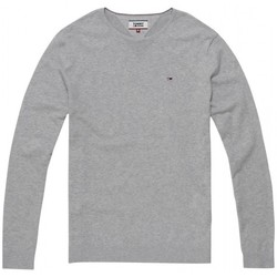Vêtements Homme Pulls Tommy Hilfiger Pull Col Rond Gris Chine