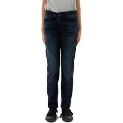 Vêtements Garçon Jeans droit Le Temps des Cerises maxxjogg bleu