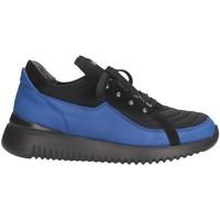 Chaussures Homme Baskets basses Mg Magica MAC04 Noir / Bleu
