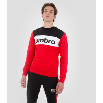 Vêtements Sweats Umbro Pull A Col Rond Authentic Big Logo ROUGE