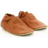 Chaussures Garçon Chaussons bébés Robeez Mywood MARRON
