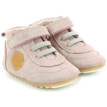 Chaussures Fille Baskets montantes Robeez Milo ROSE