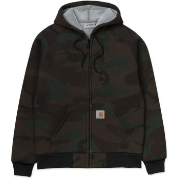 Vêtements Homme Sweats Carhartt LUX HOODED JACKET GIACCHETTO CON CAPPUCCIO CAMO Vert