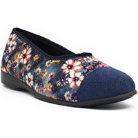 Chaussures Femme Chaussons Fargeot NASTRAL Bleu