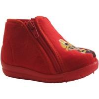 Chaussures Garçon Baskets montantes Bellamy KIKI ROUGE
