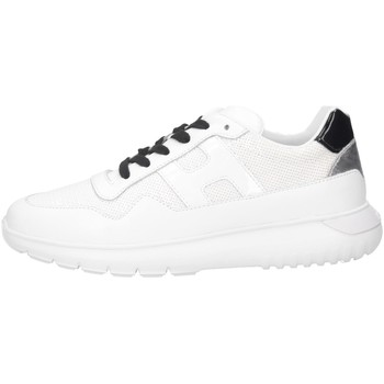 Chaussures Fille Baskets basses Hogan HXC3710AP30M91016U blanc