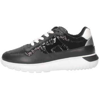Chaussures Fille Baskets basses Hogan HXC3710AP30M910160 Noir
