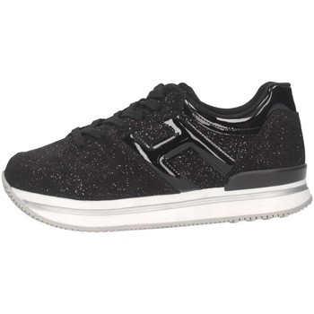 Chaussures Fille Baskets basses Hogan HXC2220T548M9KB999 Noir