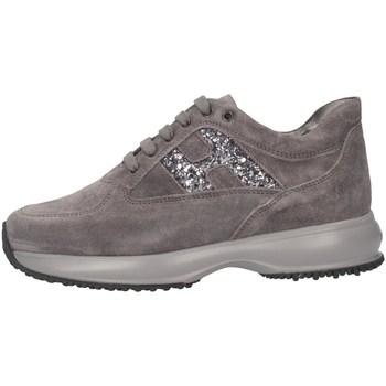 Chaussures Fille Baskets basses Hogan HXC00N0O240GHM372B Gris
