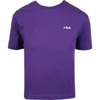 Vêtements Femme T-shirts manches courtes Fila WOMEN ADALMIINA TEE Violet