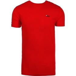 Vêtements Homme T-shirts manches courtes Fila MEN VAINAMO TEE SS Rouge