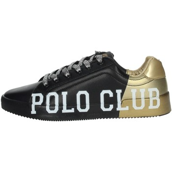 Chaussures Femme Baskets basses Beverly Hills Polo Club PC107 Noir/Or