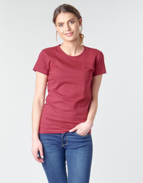 MATILDA  BOTD  t-shirts manches courtes  femme  bordeaux