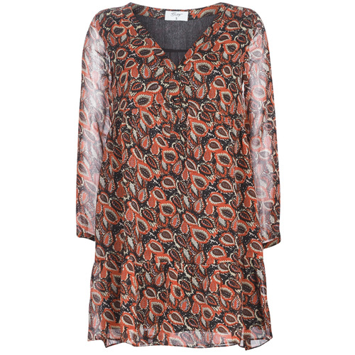 Vêtements Femme Robes courtes Betty London LETICIA Noir / Rouge
