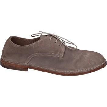 Chaussures Femme Derbies Moma BR977 gris